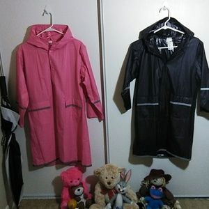 Other - His & Hers boys and girls raincoats